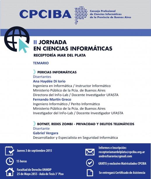 II Jornada en Ciencias Informáticas - Mar del Plata
