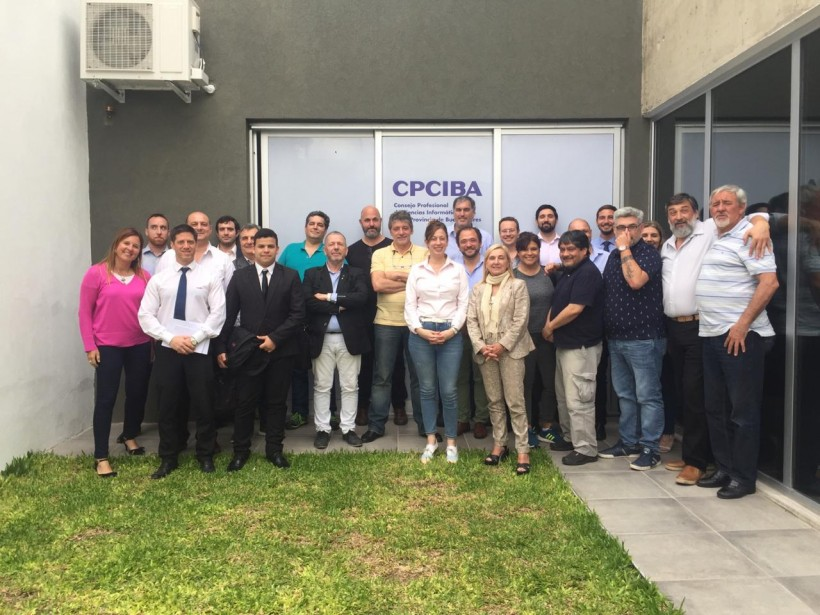 Se realizó en CPCIBA una importante jornada de políticas de seguridad de la información, organizada por Capa 8
