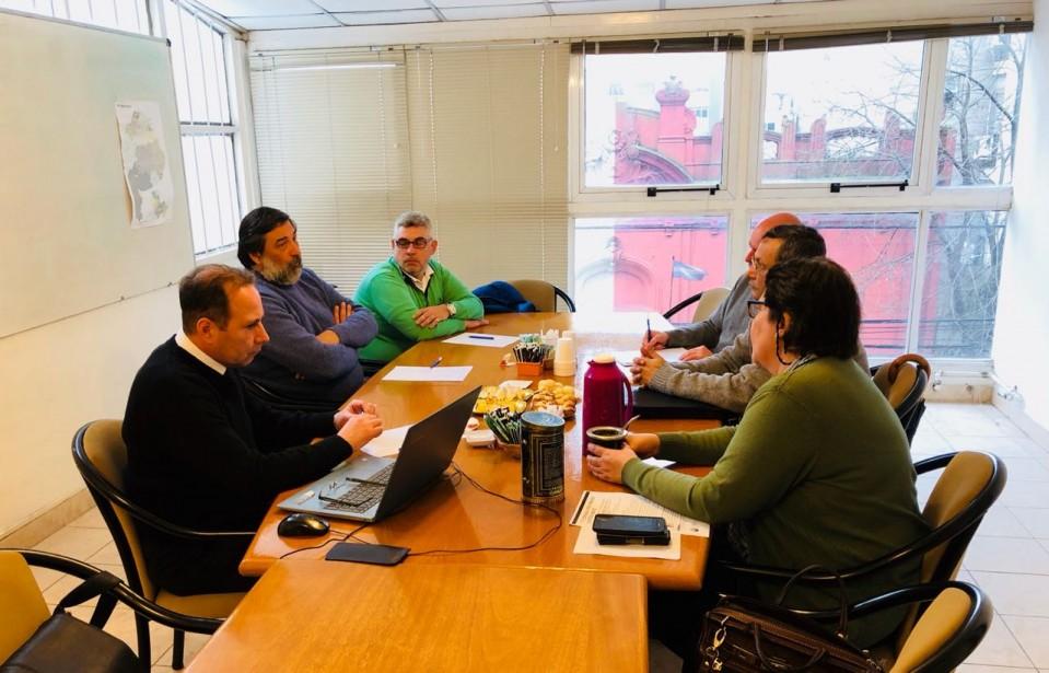 Reunión con autoridades del Consejo Consultivo de la UNLP