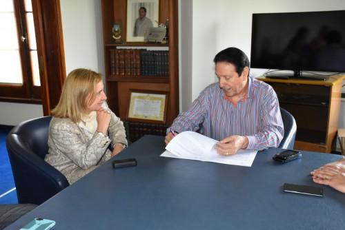 CPCIBA y UPCN firmaron coonvenio de