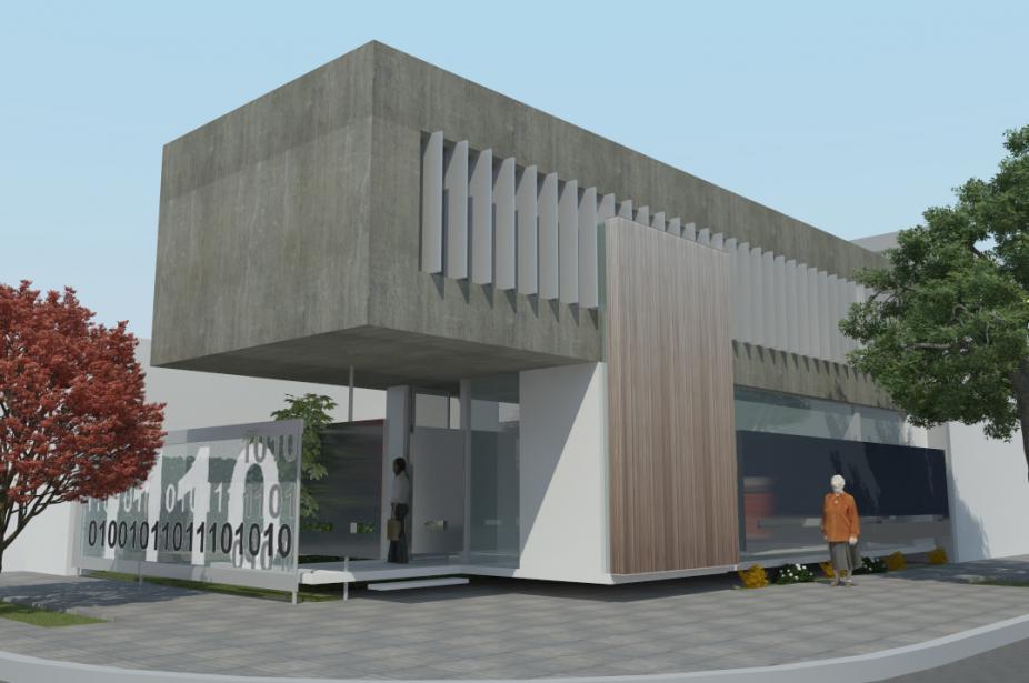 Finalizó la Etapa I de la construcción de la Sede Administrativa CPCIBA - 10 esquina 37 / La Plata