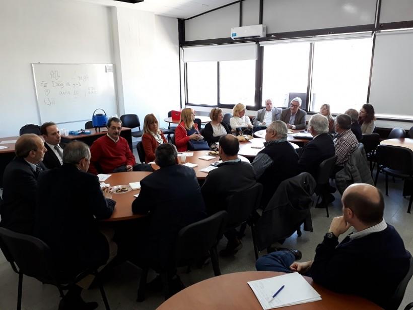 Sesionó el Consejo Consultivo Profesional de la UNLP, con la presencia de nuestra institución