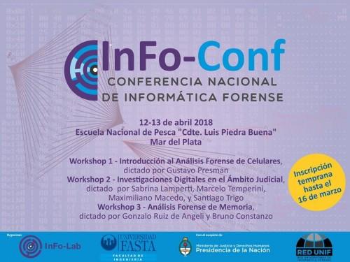En Mar del Plata, 12 y 13 de abril: Conferencia Nacional de Informática Forense