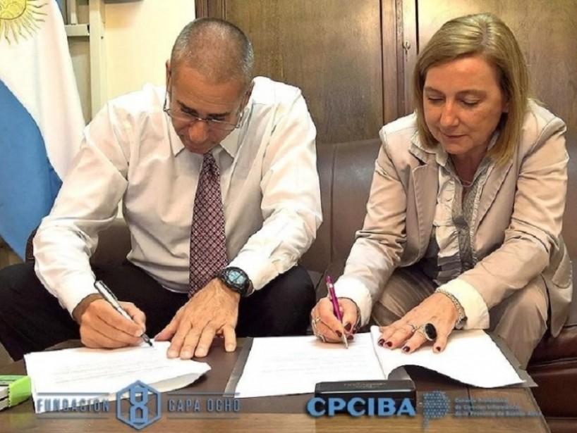 El Consejo Profesional de Cs. Informáticas y la Fundación Capa 8 avanzan en la temática de la ciberseguridad