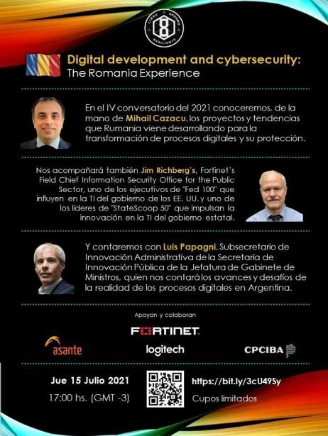 Conversatorio: Rumania, sus procesos digitales y protección