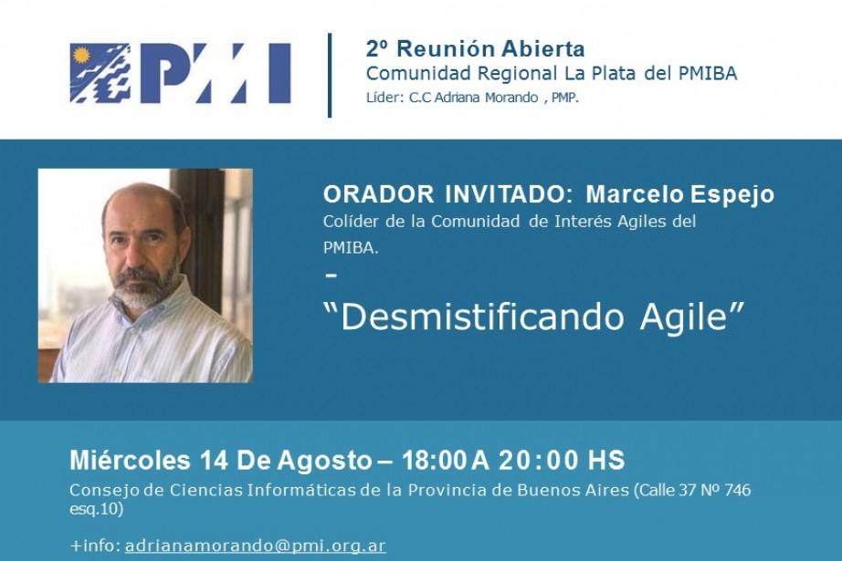Reunión Abierta La Plata: Desmistificando Agile