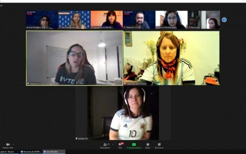Cyber Women Challenge: Así reflejó El Día el desempeño del equipo ganador de nuestro país, integrado por la Ing. Lavore Bourg